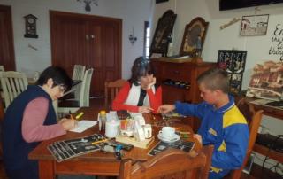 Emilise Rautenbach coaching people