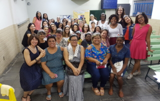 Ladies at a woman's conference